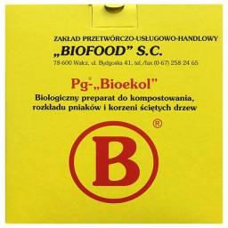 """Pg-""""Bioekol"""" do rozkładu pni, korzeni ściętych drzew"""